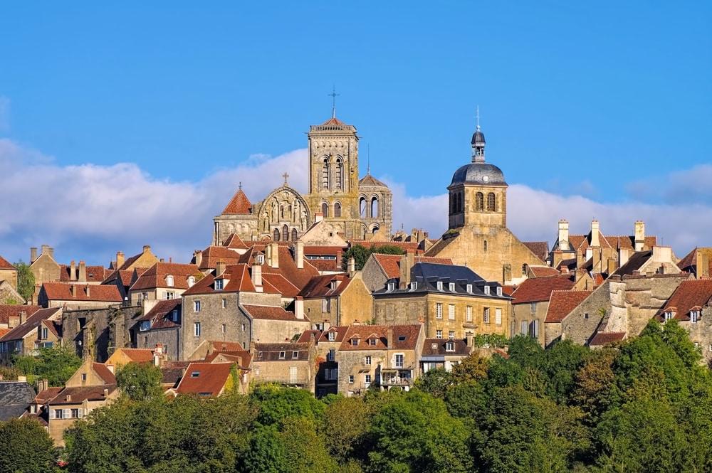 Villages de Bourgogne Franche-Comté : Vézelay