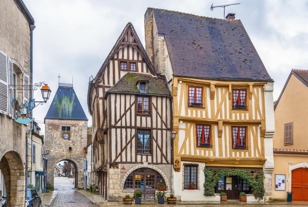 Villages de Bourgogne Franche-Comté : Noyers-sur-Serein