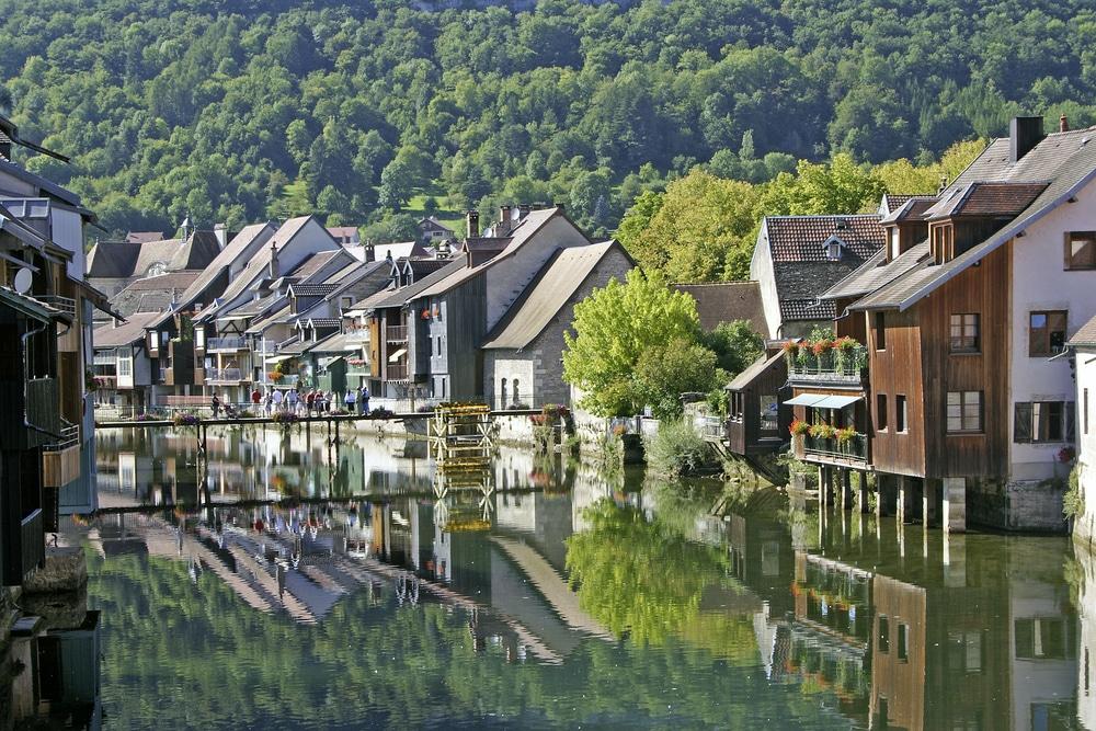 Villages de Bourgogne Franche-Comté : Ornans
