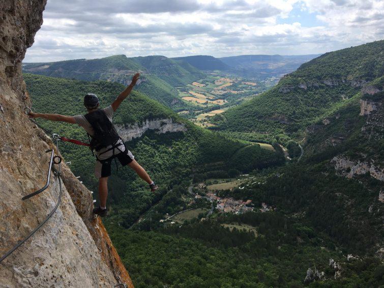 Via Ferrata du Boffi, Gorges de la Dourbie