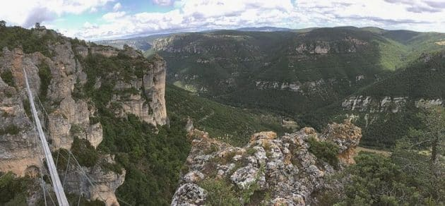 Via Ferrata dans les Gorges de la Dourbie : le spot de Boffi