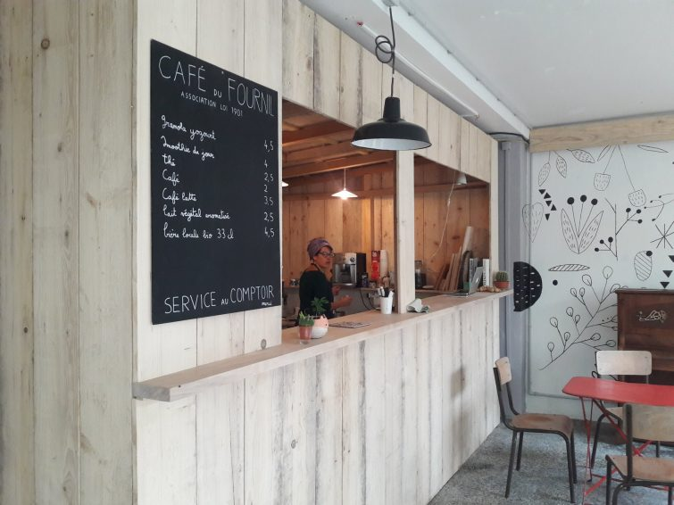 Café du Fournil, Saint Bertrand