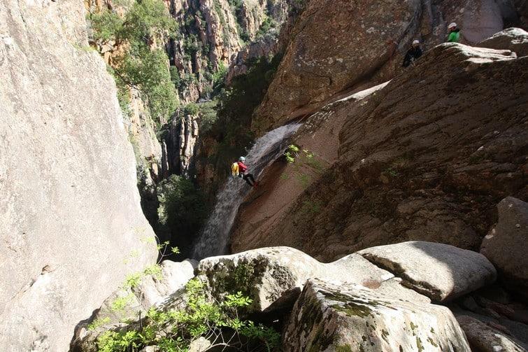 Canyoning au Dardu