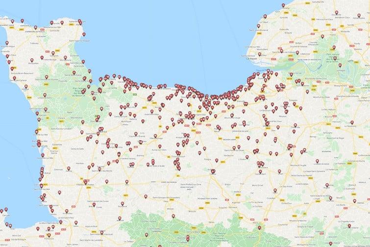 Où stationner lorsqu'on visite la Normandie en camping-car ?