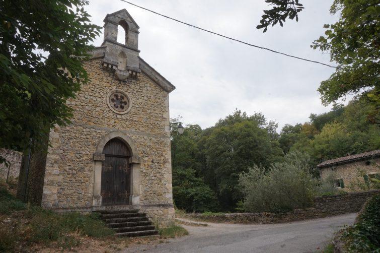 Chapelle Sainte-Lucie, Mirmande
