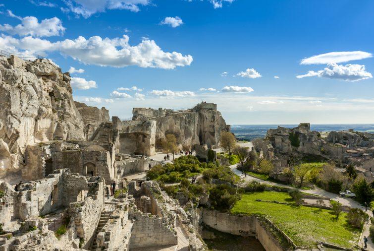 Visiter les Baux-de-Provence : château