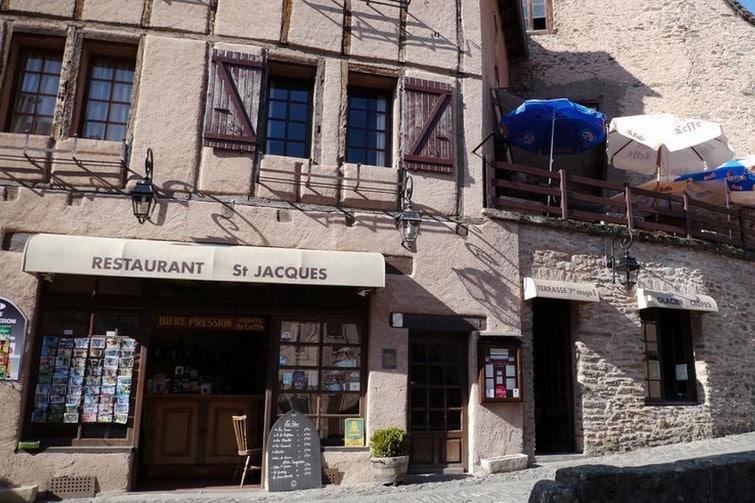 Où dormir à Conques : Auberge Saint-Jacques