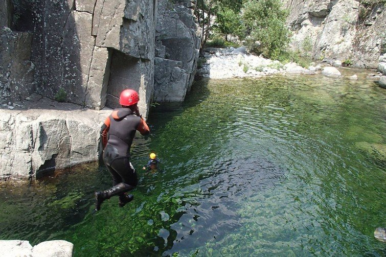 Canyoning à Corte : Canyon de Tavignano