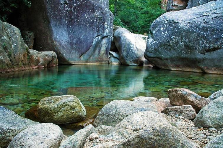Canyoning en Corse : Canyon de Purcaraccia