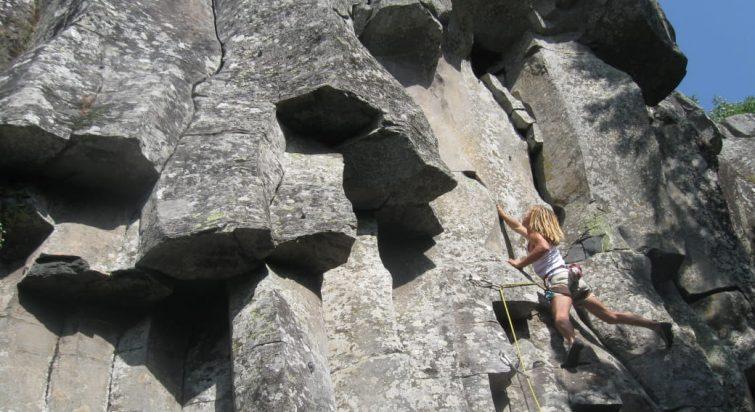 Site d'escalade La Peyrade