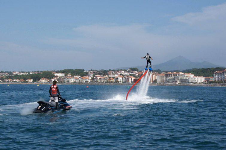 Flysurf à Hendaye