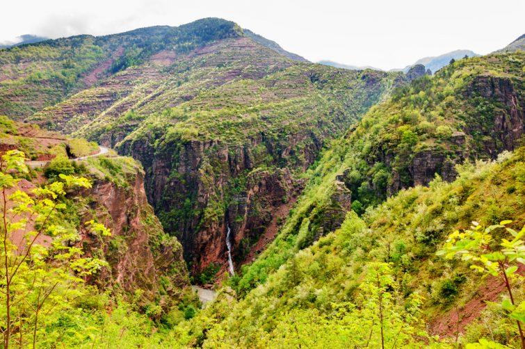 Visiter arrière-pays niçois : Gorges de Daluis