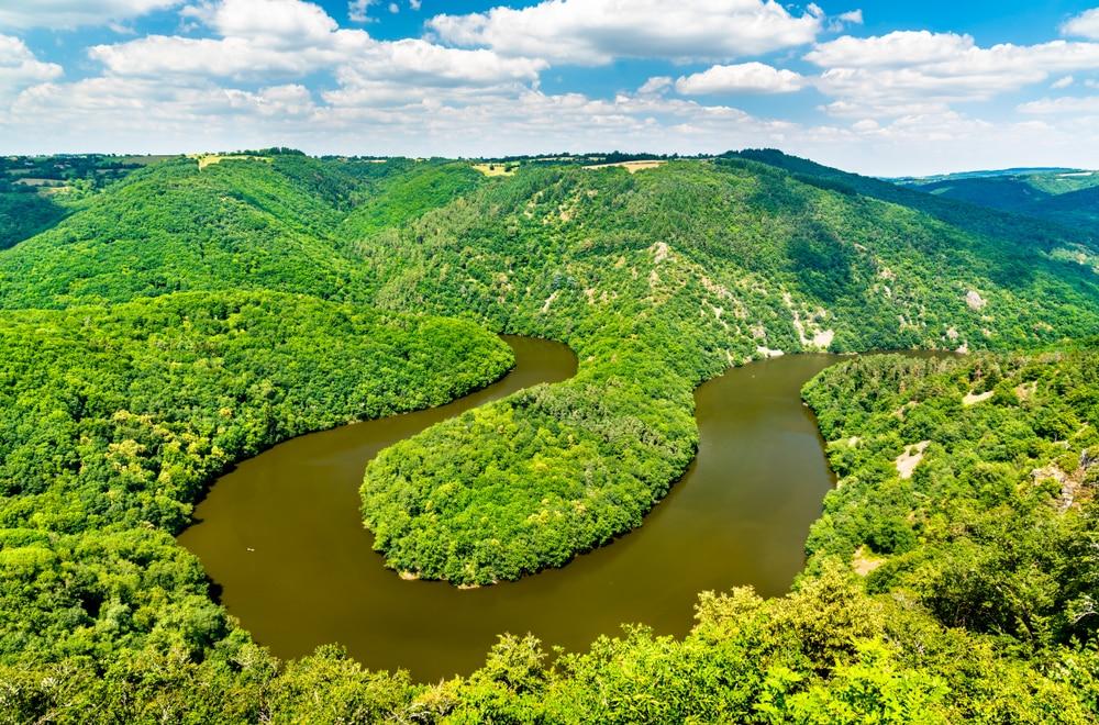 canyon France - Gorges de la Sioule