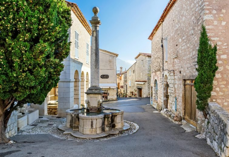 Village médiéval de Gourdon