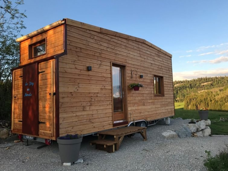 <em>Tiny House</em> du Haut Jura