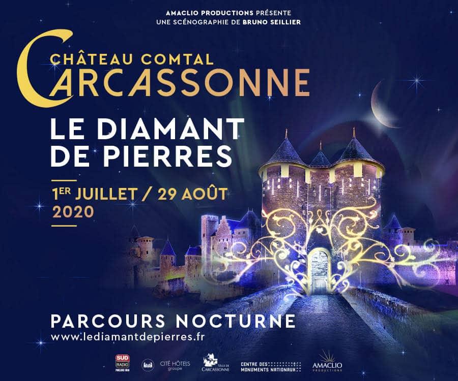Le Diamant de Pierres, Carcassonne