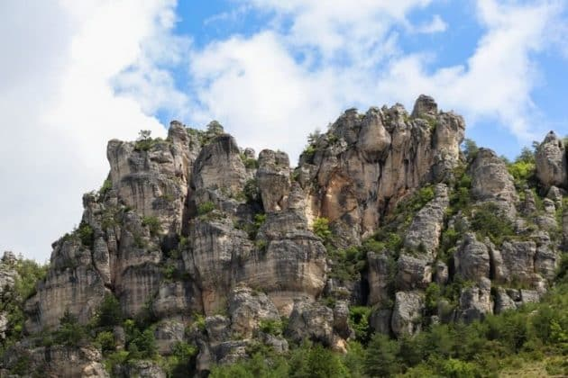 Via Ferrata dans les Gorges du Tarn : le spot de Liaucous