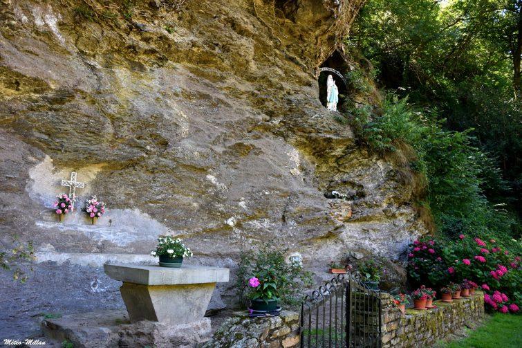 Grotte du Lourdou, Belcastel