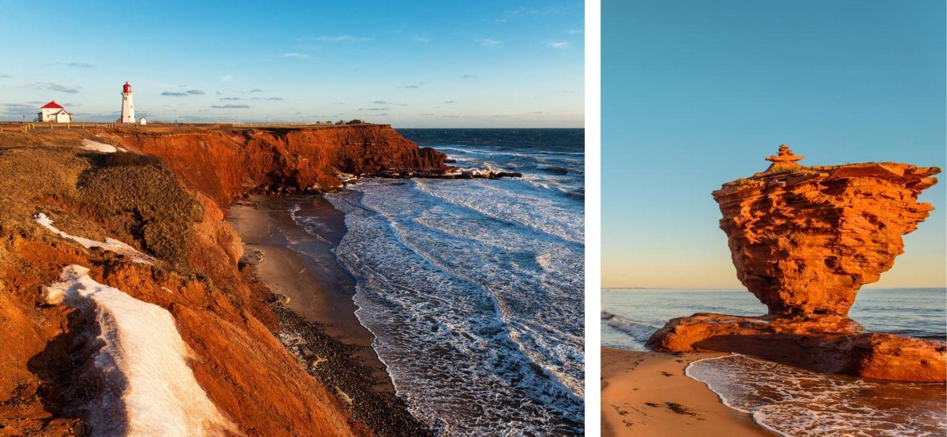 Le rouge des Îles de la Madeleine et de l'Île du Prince Edouard
