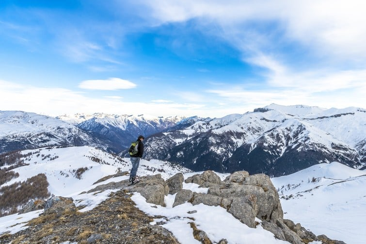 Visiter le Parc National du Mercantour d'hiver