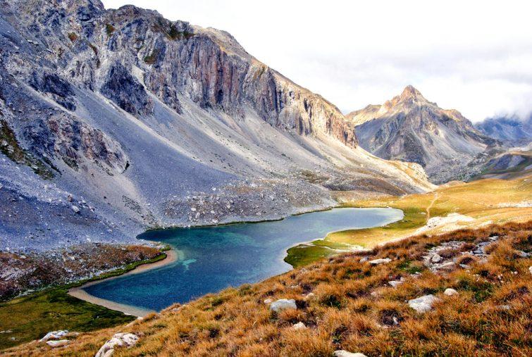 Lac au Parc national du Mercantour