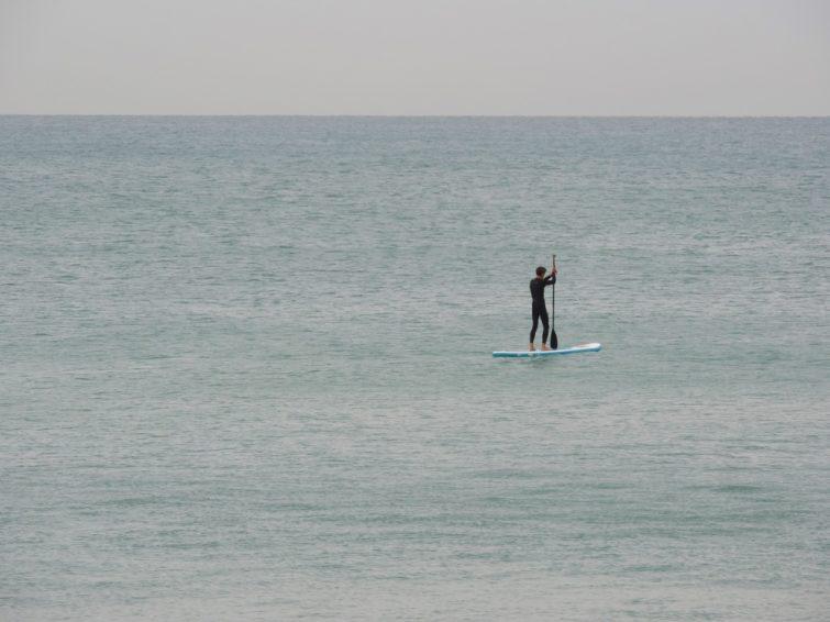 Paddle à Biarritz