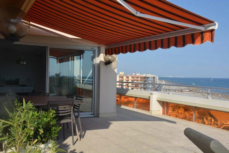 Très bel appartement front de mer