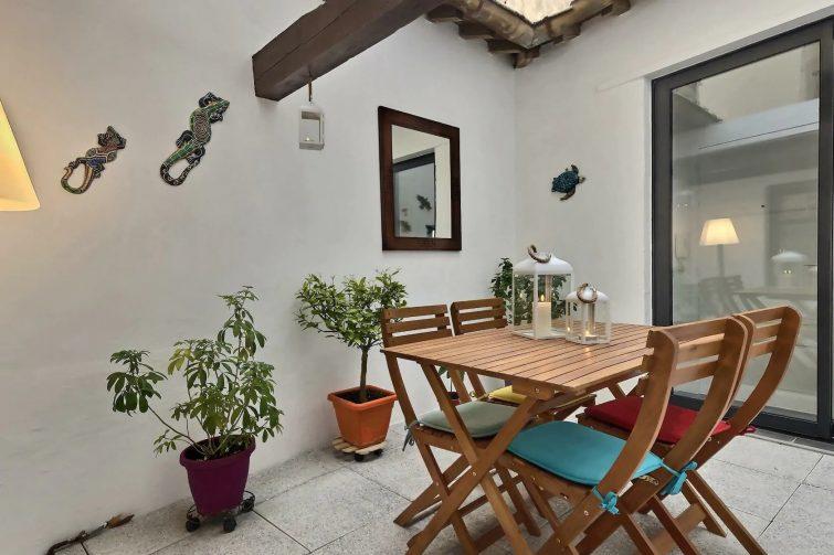 Appartement avec patio