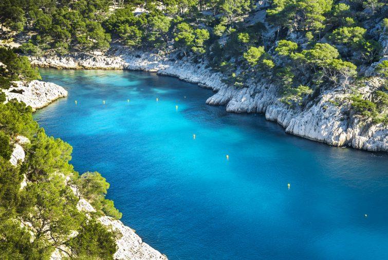 Kayak de mer en Provence : Calanque de Port Pin