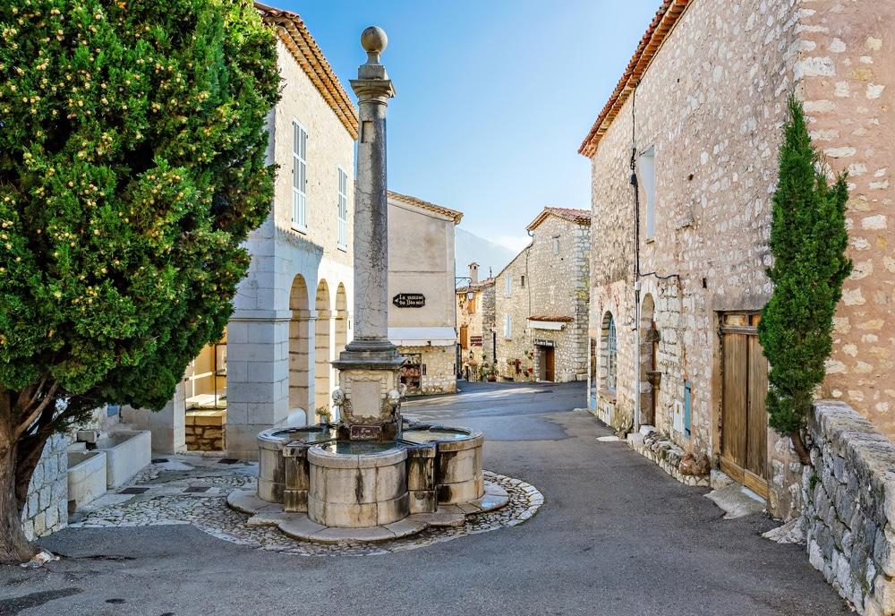 Villages de Provence Alpes Côte d'Azur : Gourdon