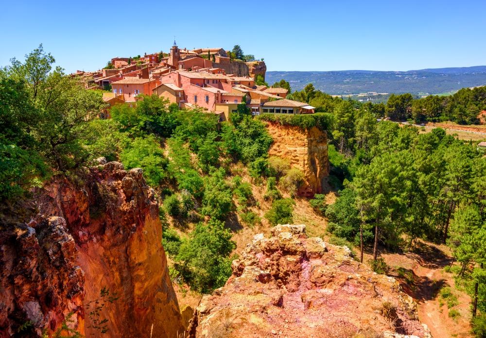 Villages de Provence Alpes Côte d'Azur : Roussillon
