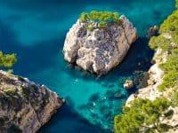 Kayak de mer en Provence
