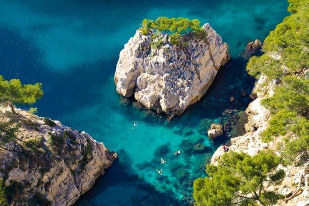 7 idées de balades à faire en kayak de mer en Provence