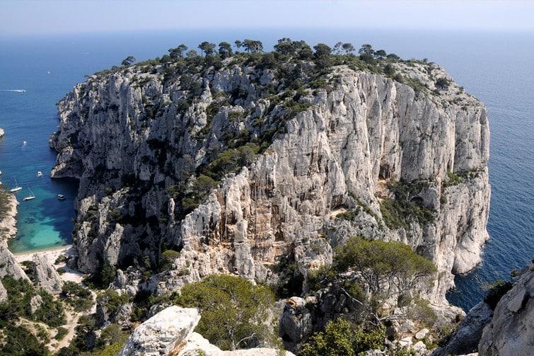 Kayak de mer en Provence : Calanque de l'Oule