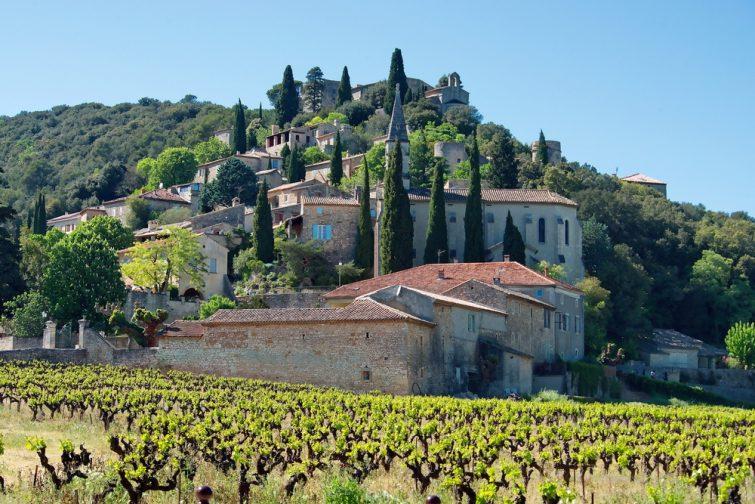 Village de La Roque-sur-Cèze