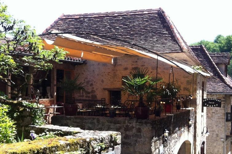 Où manger à Saint-Cirq-Lapopie : Le Cantou