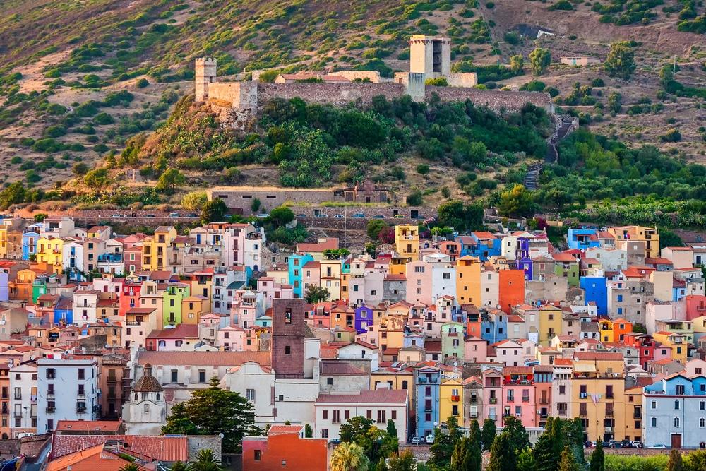 Plus beaux villages de Sicile : Bosa