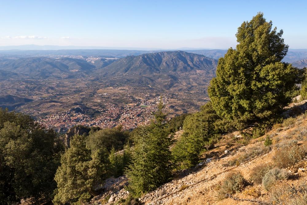 Plus beaux villages de Sardaigne : Oliena