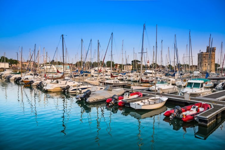 Port de la Rochelle - location jet ski La Rochelle