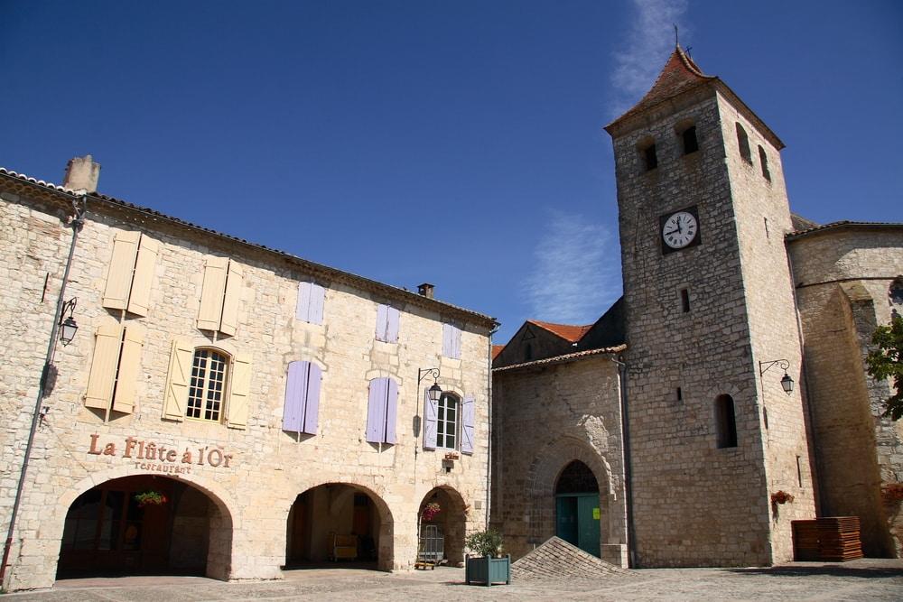 L'église des Carmes - Lauzerte