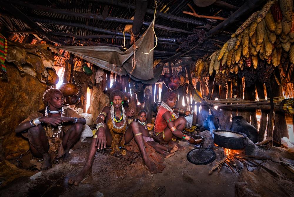 Dimeka village - Éthiopie