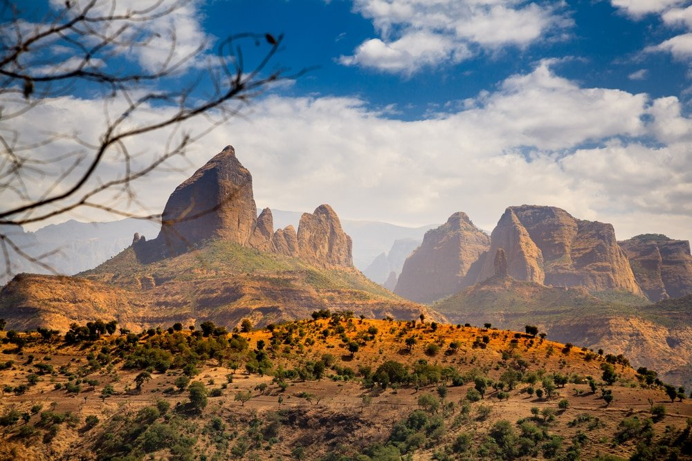 Parc national Simien - Éthiopie