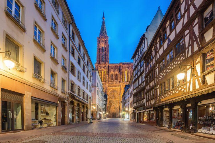 Parking pas cher à Strasbourg