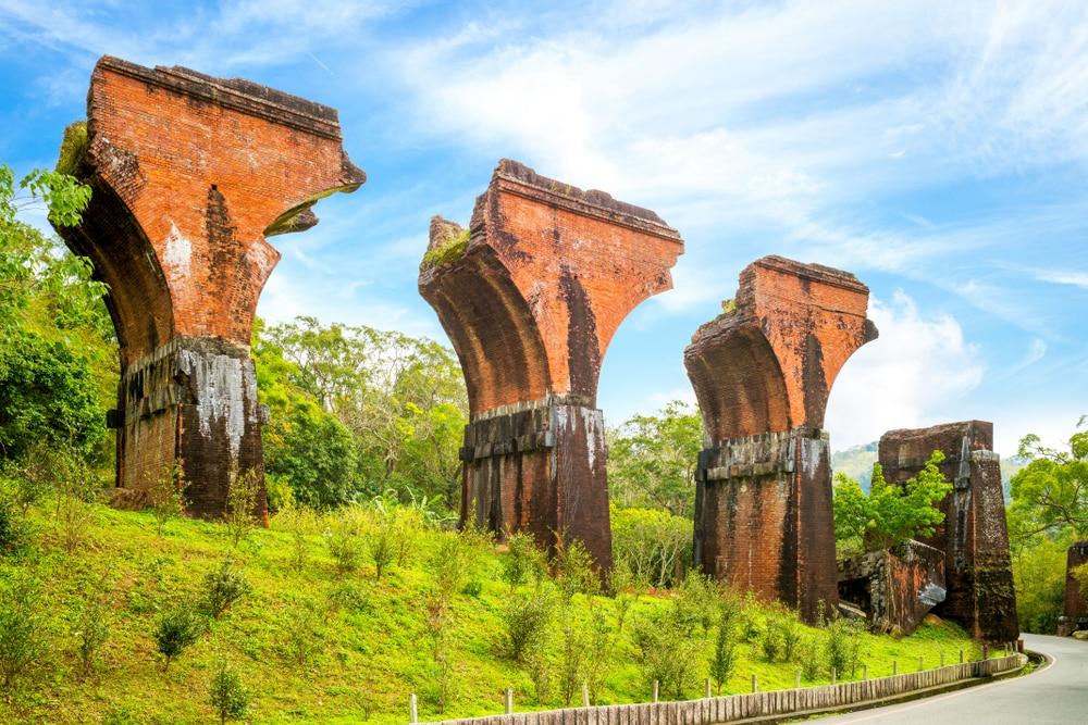 Ruines du pont de Longteng