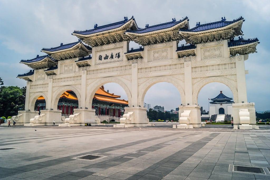 Visiter Taïwan : Mémorial Tchang Kaï-chek