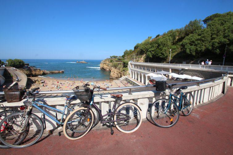 Vélo à Biarritz