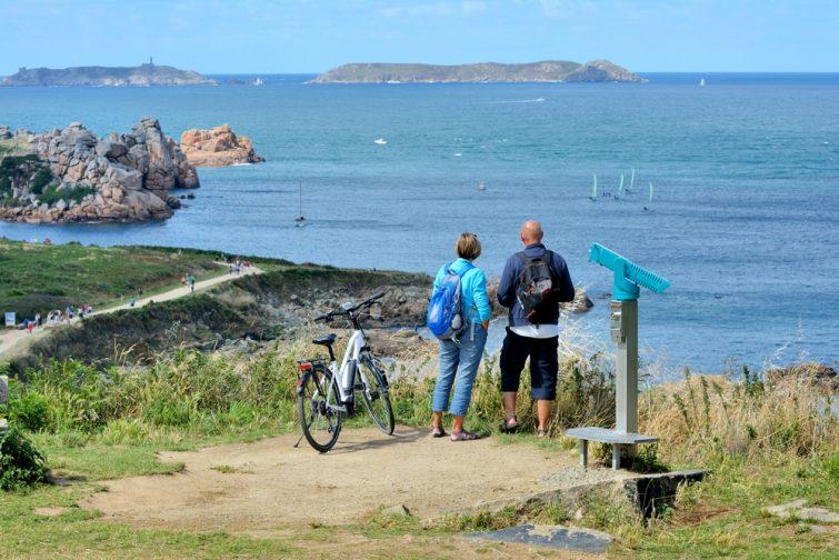Faire du vélo en Bretagne
