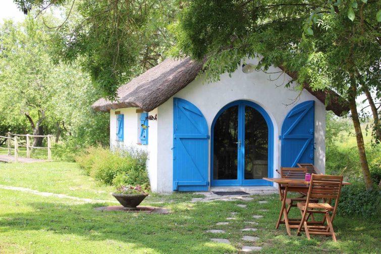 Habitation traditionnelle des marais