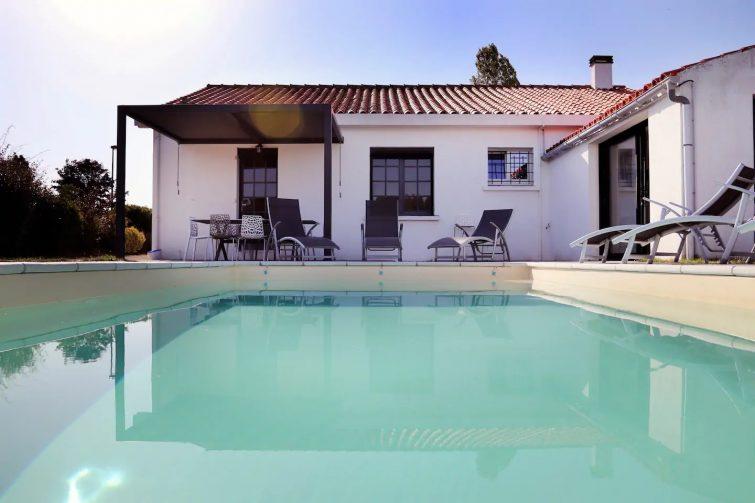 Maison, spa, piscine et mer aux Angles