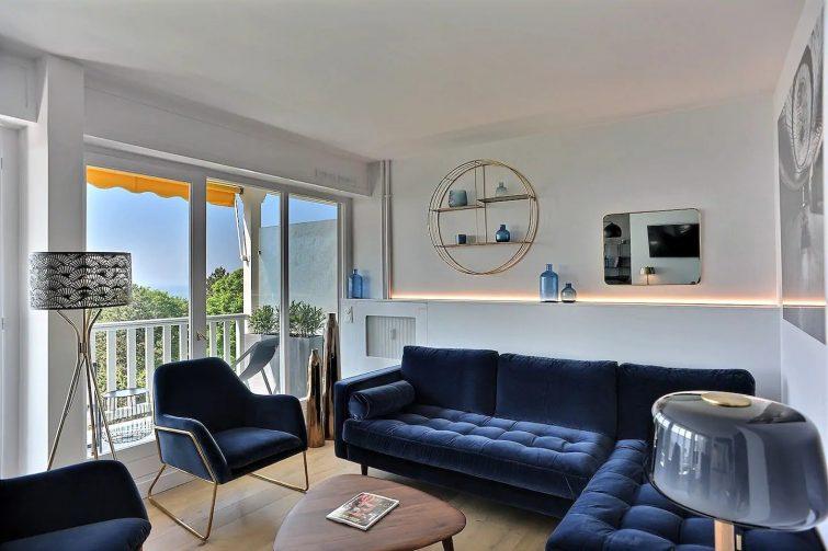 Magnifique appartement face à la mer avec parking